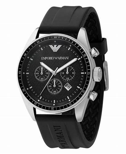 Armani Emporio Chronograph Strap Rubber Watches