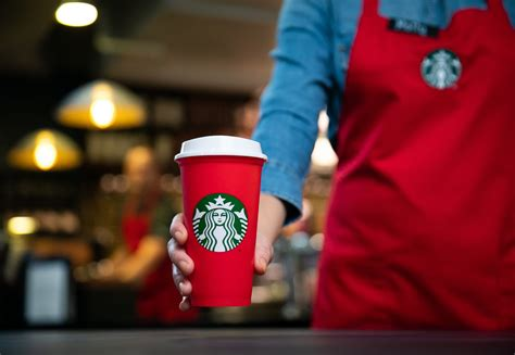 starbucks refillable cup  november