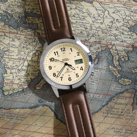 National Geographic Analog Atomic Field Watch National