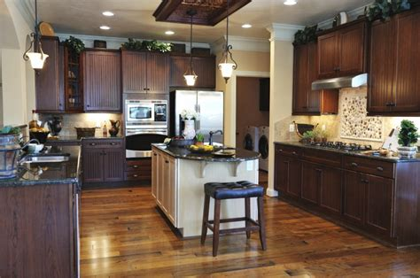 dark cabinets with wood floors 150 u shape kitchen layout ideas for 2018 black