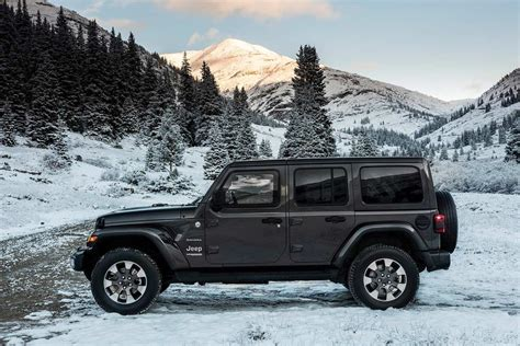 2018 Jeep Wrangler Unlimited by 2018 Jeep Wrangler Unveiled Evolution Of A Legend Autobics