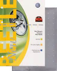 vw volkswagen owners manual  beetle  bentley