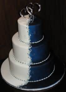 wedding cake ornament a wedding addict blue wedding cake special snow