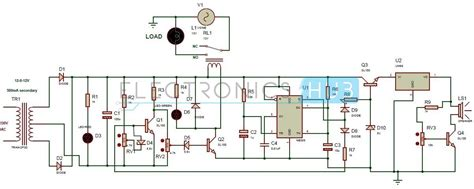 High Low Voltage Cutoff With Delay Alarm Circuit