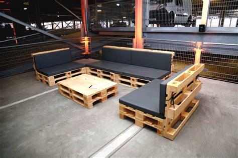 Lounge Möbel Paletten by Palettenlounge Mit Tisch Lounge Tisch Aus Paletten