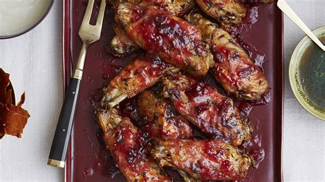slow roasted turkey wings