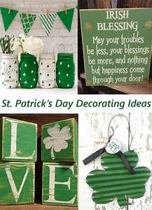 St. Patrick's Day Decor - The Honeycomb Home