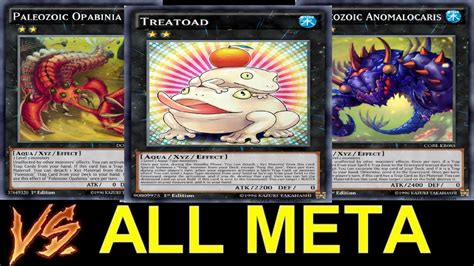 meta decks 2017 yugioh paleozoic frogs vs all meta decks going 2nd everytime