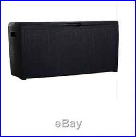 keter jumbo deck box grey large plastic keter grey garden garage rattan storage