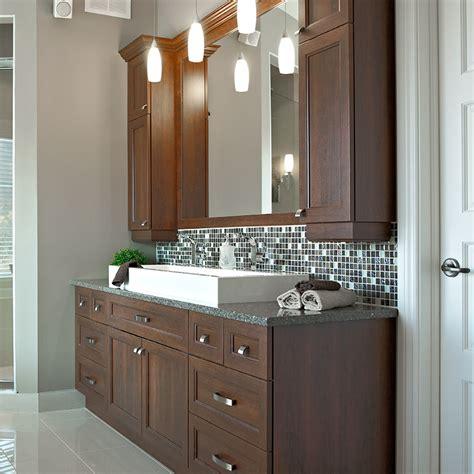 cuisines beauregard salle de bain realisation  vanite de salle de bain en melamine polyester