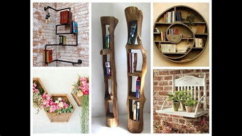 Diy Home Decor Projects And Ideas: Creative Wall Shelves Ideas