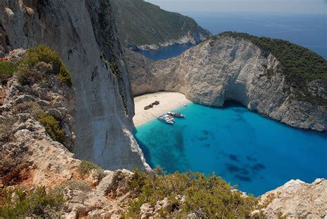 Navagio Beach Zakynthos Greece Beautiful Places To Visit