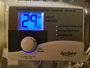 I Have An Aprilaire Model 56 Auto Trac Humidistat W  Outdoor Sensor That Is Set To Operate