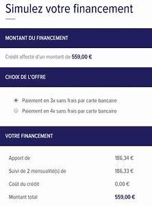 Carte Peugeot 4 Fois Sans Frais : paiement s curis en 3 ou 4 fois sans frais avec la compagnie du lit ~ Gottalentnigeria.com Avis de Voitures
