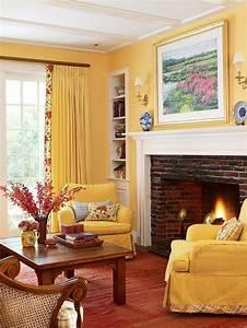 28, Yellow, Living, Room, Decorating, Ideas