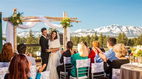 lake tahoe weddings honeymoons lake tahoe resort hotel