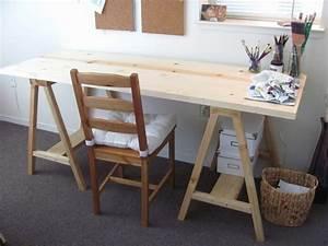 Schreibtisch Design Holz : diy projekt schreibtisch selber bauen 25 inspirierende beispiele und ideen ~ Eleganceandgraceweddings.com Haus und Dekorationen