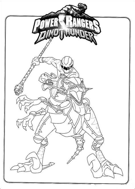 Dino Power Rangers Kleurplaat by Power Rangers Coloring Pages Power Rangers Dino Thunder