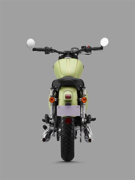 jawa forty  rear profile press image