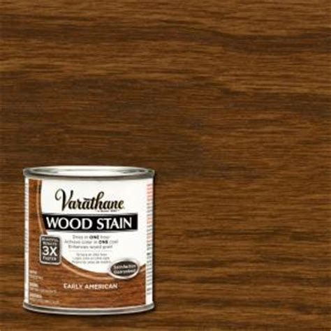 Varathane 1/2 pt. Early American Wood Stain 266196   The