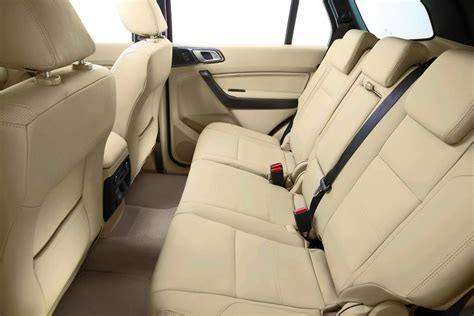 ford everest revealed     seat suv  sale