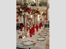 311 best Red, White, And Black Table Settings images on