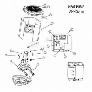Aquapro Ahn Series Heat Pump Parts