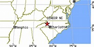 Lenoir, North Carolina (NC) ~ population data, races ...
