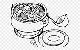 Stew Soup Coloring Bowl Pot Clipart Drawing Pinclipart Report Paintingvalley sketch template