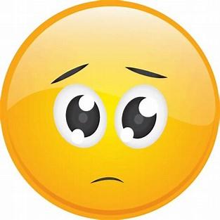 Image result for Frown Emoji