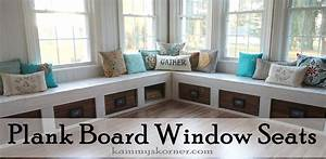 Kammy's Korner: One Of A Kind Window Seats From A Planked