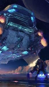 Wallpaper, Spaceship, Futuristic, Space, 4k, Art, 20152