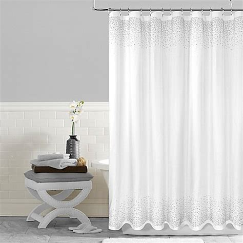 shower curtain 54 x 78 buy twilight 54 inch x 78 inch shower curtain in white