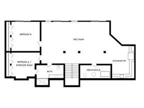 home floor plans with basements walkout basement floor plans houses flooring picture ideas