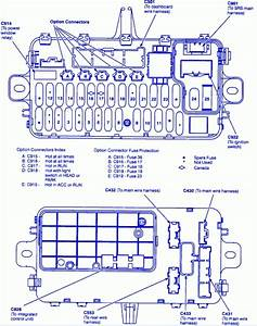 Fuse Diagram 2004 Honda Cr V