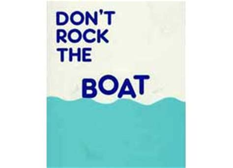 Don T Rock The Boat Play by Don T Rock The Boat Plays Pantomimes Josef Weinberger