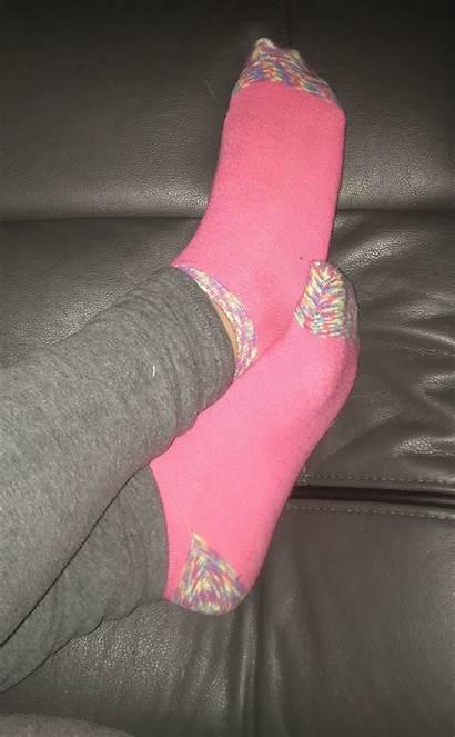 Socks Frilly Teen Snapchat Pose Toes