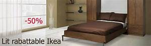 Lit Meuble Ikea : lit mural ikea meuble de lit vasp ~ Premium-room.com Idées de Décoration