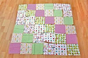 Babydecke Selber Machen : patchworkdecke n hen schritt f r schritt anleitung teil 1 ~ Lizthompson.info Haus und Dekorationen