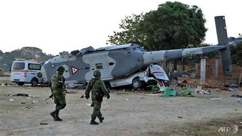 """13 Killed In Mexican Minister""""s Helicopter Crash"""