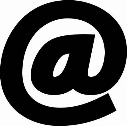 Symbol Arroba Icon Email Address Sign Icons