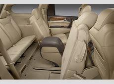 2011 Buick Enclave CXL Rear Seats in Cashmere Color