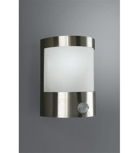 massive vilnius stainless steel finish outdoor wall light