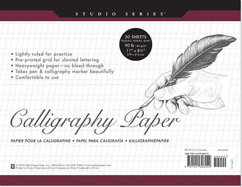 Studio Series Calligraphy Paper Pad (set Of 50 Sheets