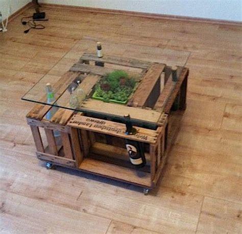 Tisch Aus Weinkisten Mit Glasplatte by ᐅ Weinkisten Tisch Obstkisten Couchtische Holzkisten