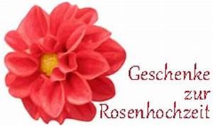Geschenke Zur Rosenhochzeit : geschenke zur rosenhochzeit ideen zum 10 hochzeitstag ~ Frokenaadalensverden.com Haus und Dekorationen