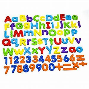 magnetic letters and numbers for educating kids in fun With best toys for learning numbers and letters