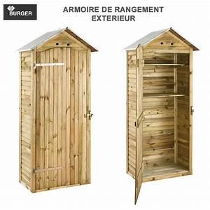 Armoire De Rangement De Jardin 90 X 58 X 204 Cm 0100539