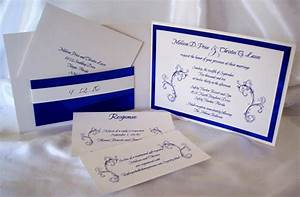 Royal blue wedding ideas and wedding invitations for Wedding invitation royal blue motif