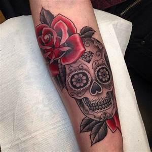 Tete De Mort Mexicaine Femme : tatouage t te de mort mexicaine signification tendances ~ Melissatoandfro.com Idées de Décoration